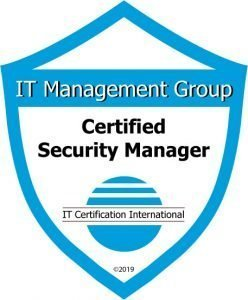 Badge Certified Security Manager