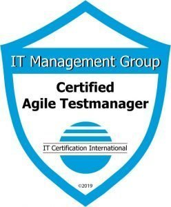 Badge Certified Agile Testmanager