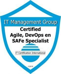 Badge Certified Agile DevOps en SAFe Specialist