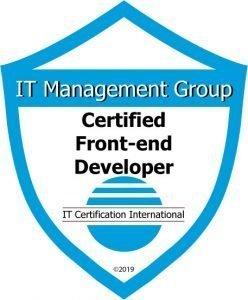 Badge Certified Front-end Developer