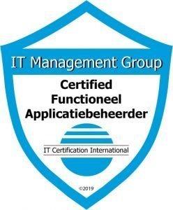 Badge Certified Functioneel Applicatiebeheerder