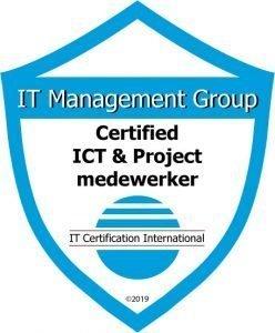 Badge Certified ICT- en Projectmedewerker