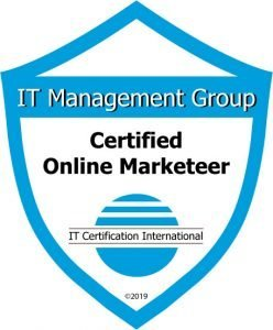 Badge Certified Online Marketeer