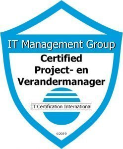 Badge Certified Project- en Verandermanager
