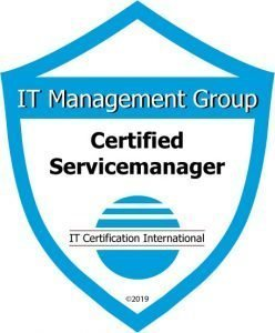 Badge Certified Servicemanager