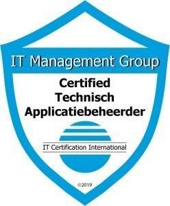 Badge Certified Technisch Applicatiebeheerder