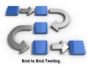 End to End Testen