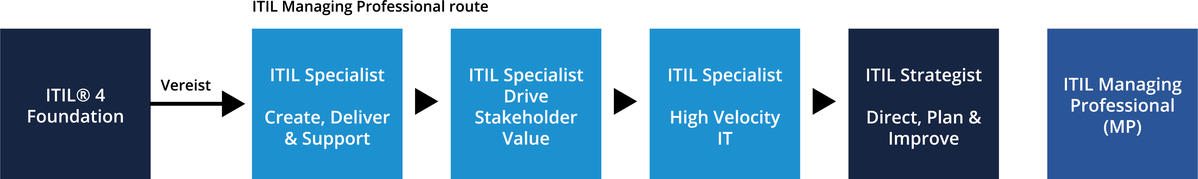 ITMG ITIL Managing Professional Route